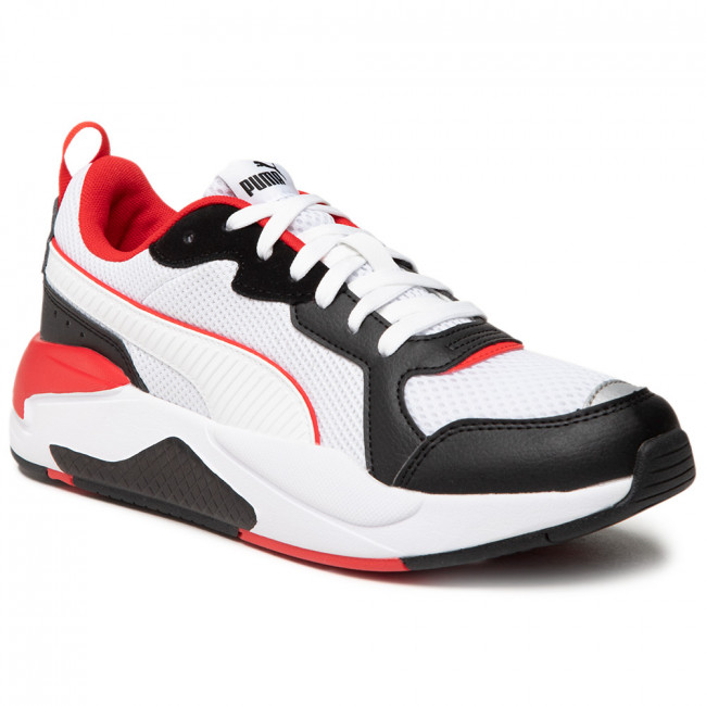 Sneakers PUMA - X-Ray 372602 14 White/White/Black/Red/Silver